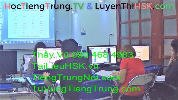 Học tiếng Trung ở đâu tại Hà Nội Giáo trình Hán ngữ 2 Bài 2 Lớp 246