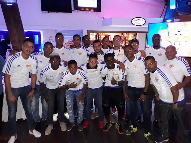 Atlético Vega Real Presentó Plantilla que Accionará en la LDF 2017