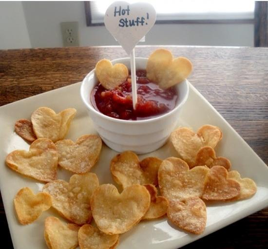 Heart-Shaped Food For Valentine's Day-Sweet & Savory