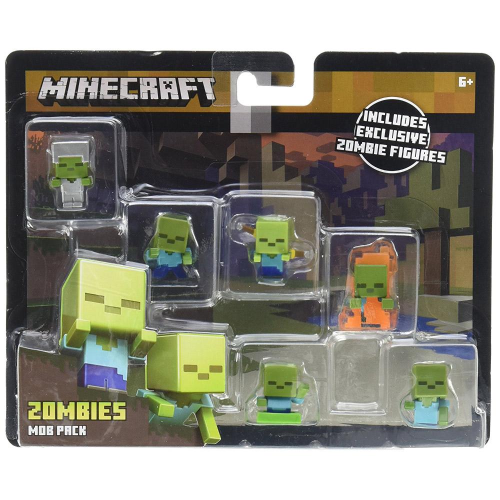 Minecraft Zombie Mob Pack Mini Figures Minecraft Merch
