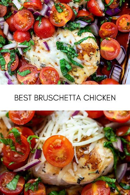 Best Bruschetta Chicken