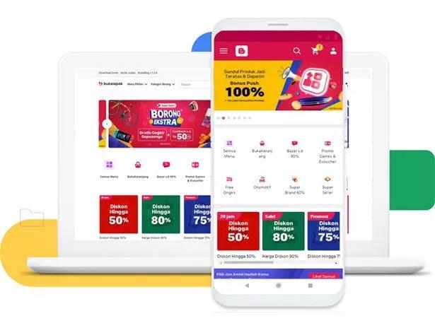 BukaBlog Premium eCommerce Blogger Template