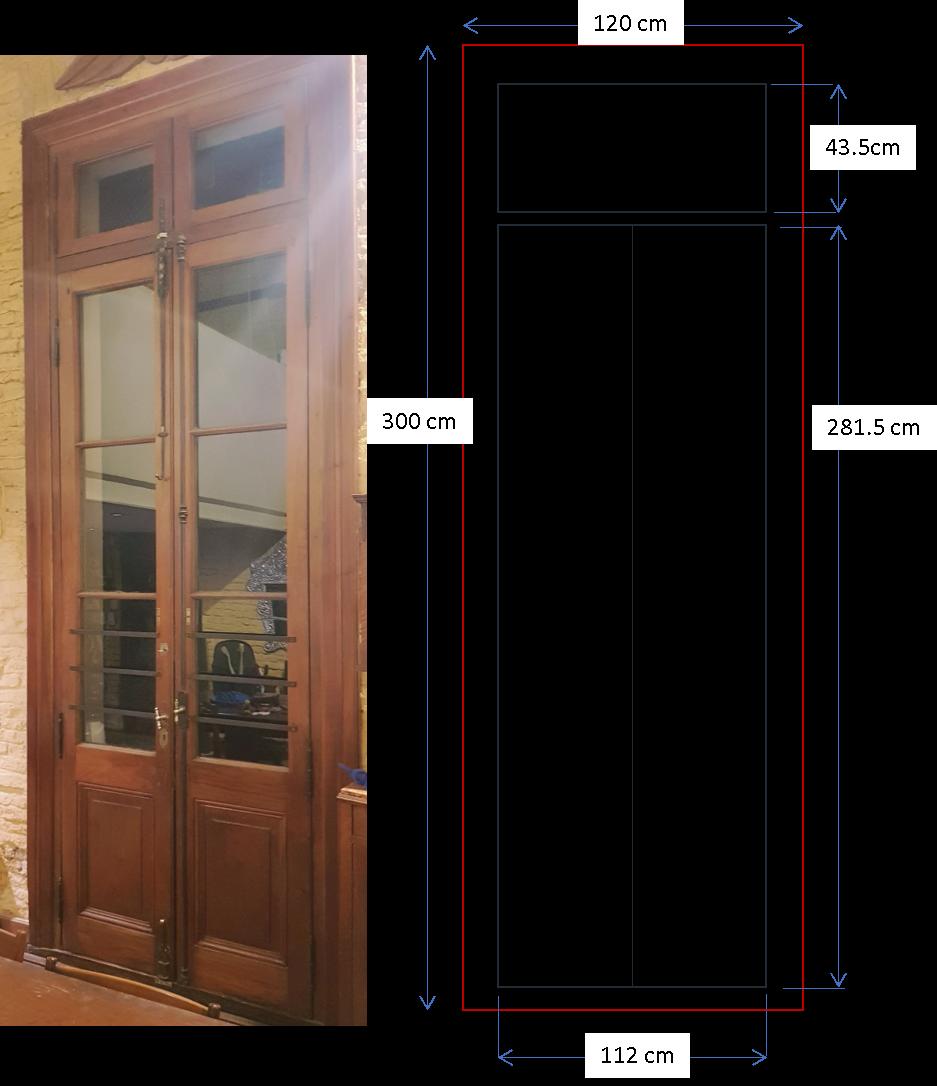 Puerta casa chorizo