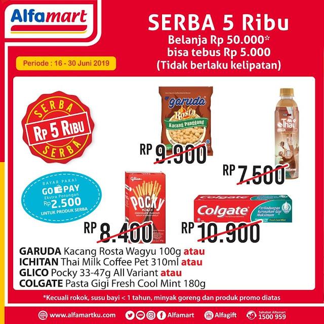#Alfamart - #Promo Katalog Serba 5K Periode 16 - 30 Juni 2019