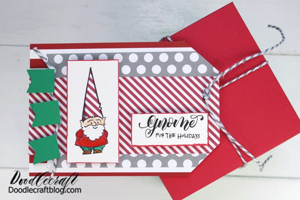 Tie it up with twine and attach the tag with a hole punch. Now it's ready for holiday gifting--the perfect handmade gift!