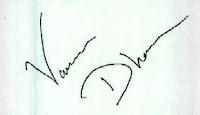 Varun Dhawan signature Varun Dhawan signature Varun Dhawan autograph