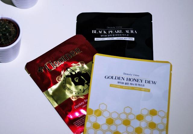 koreańskie maseczki w płachcie