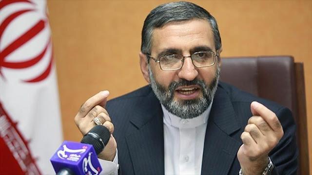 Irán: Es inaceptable que embajador británico incite a protestas