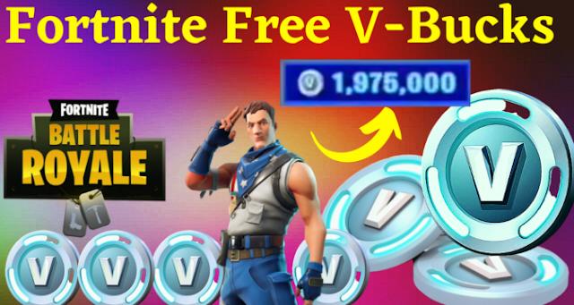 Generator Free V Bucks in Fortnite