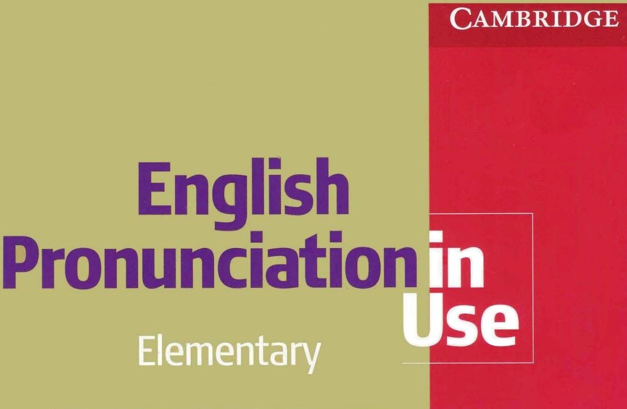 Ingles Pronunciacion en Uso (3 Niveles, PDF y Audio)