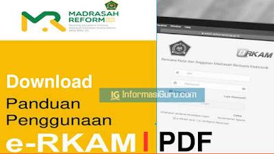 Unduh Panduan Penggunaan Aplikasi e-RKAM I PDF