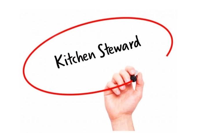 Kitchen Stewarding | Dish Washing Process | Types