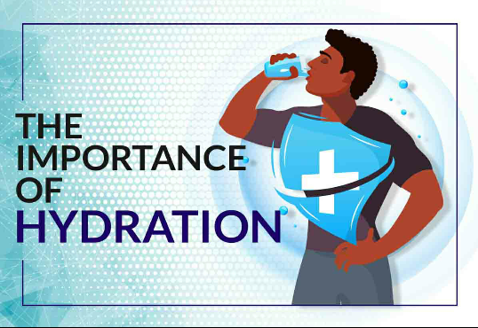 The importance of Hydration.