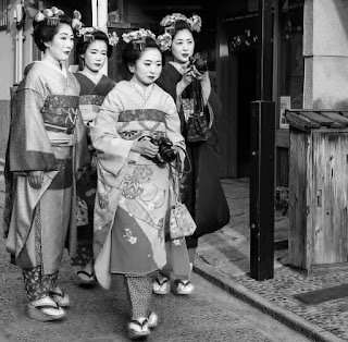 Gion dan Geisha Jepang