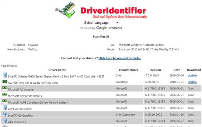 Driveridentifier download free for windows.