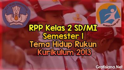 Download RPP Kelas 2 SD/MI Semester 1 Tema 1
