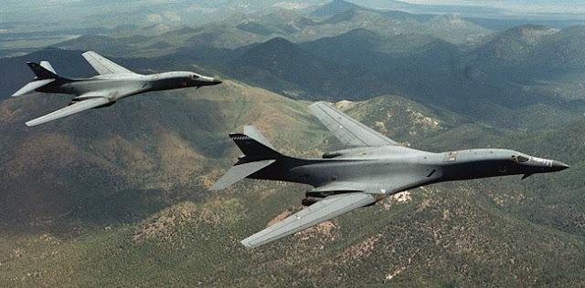 Awasi China Di Laut China Selatan, AS Kerahkan Empat Pesawat Pengebom B-1 Lancer Ke Pangkalan Guam