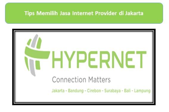 Jasa Internet Provider di Jakarta