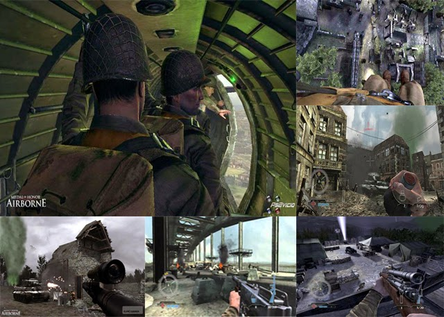 cenas do jogo medal of honor airborne