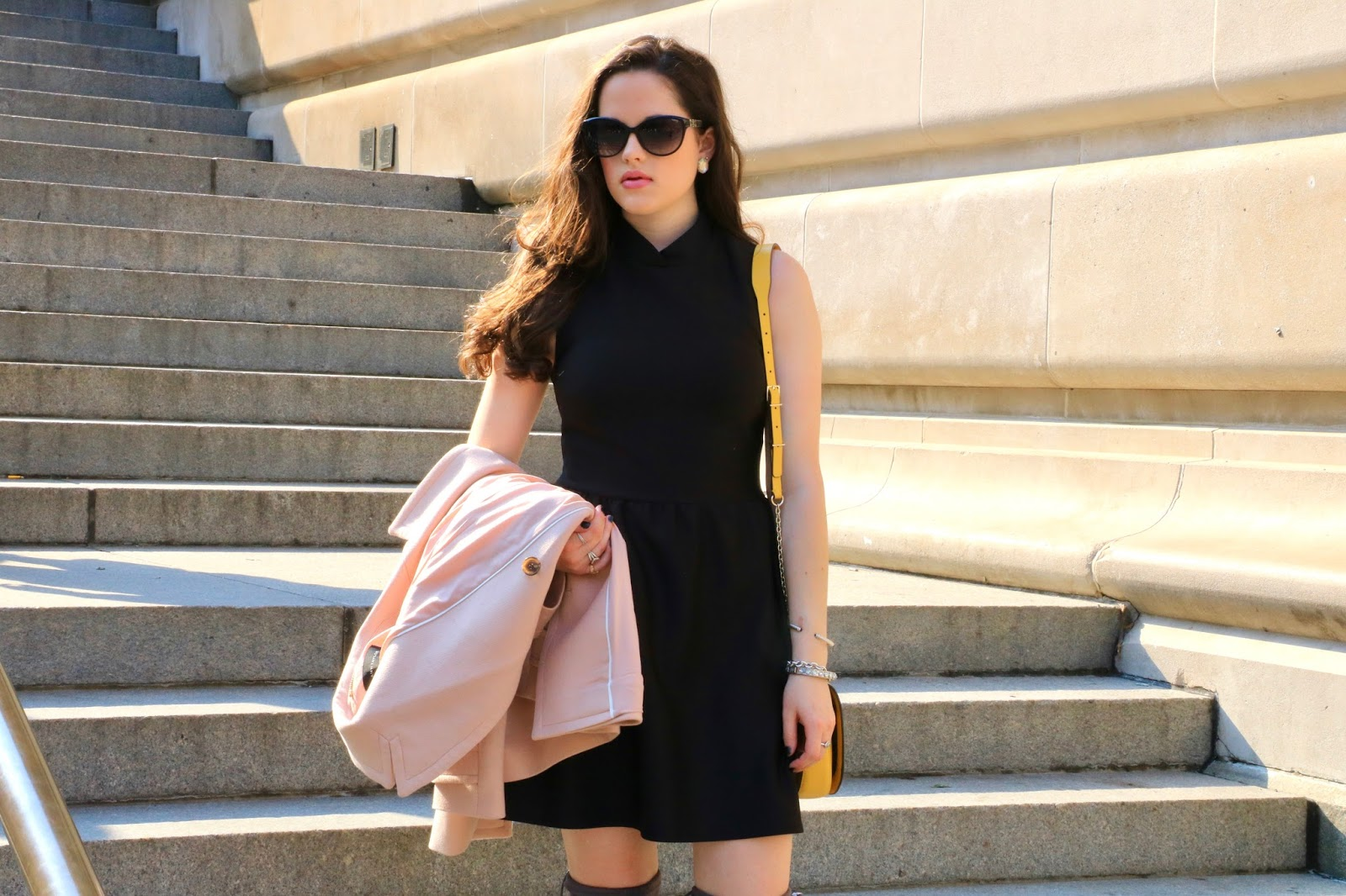 winter lbd fashion blogger