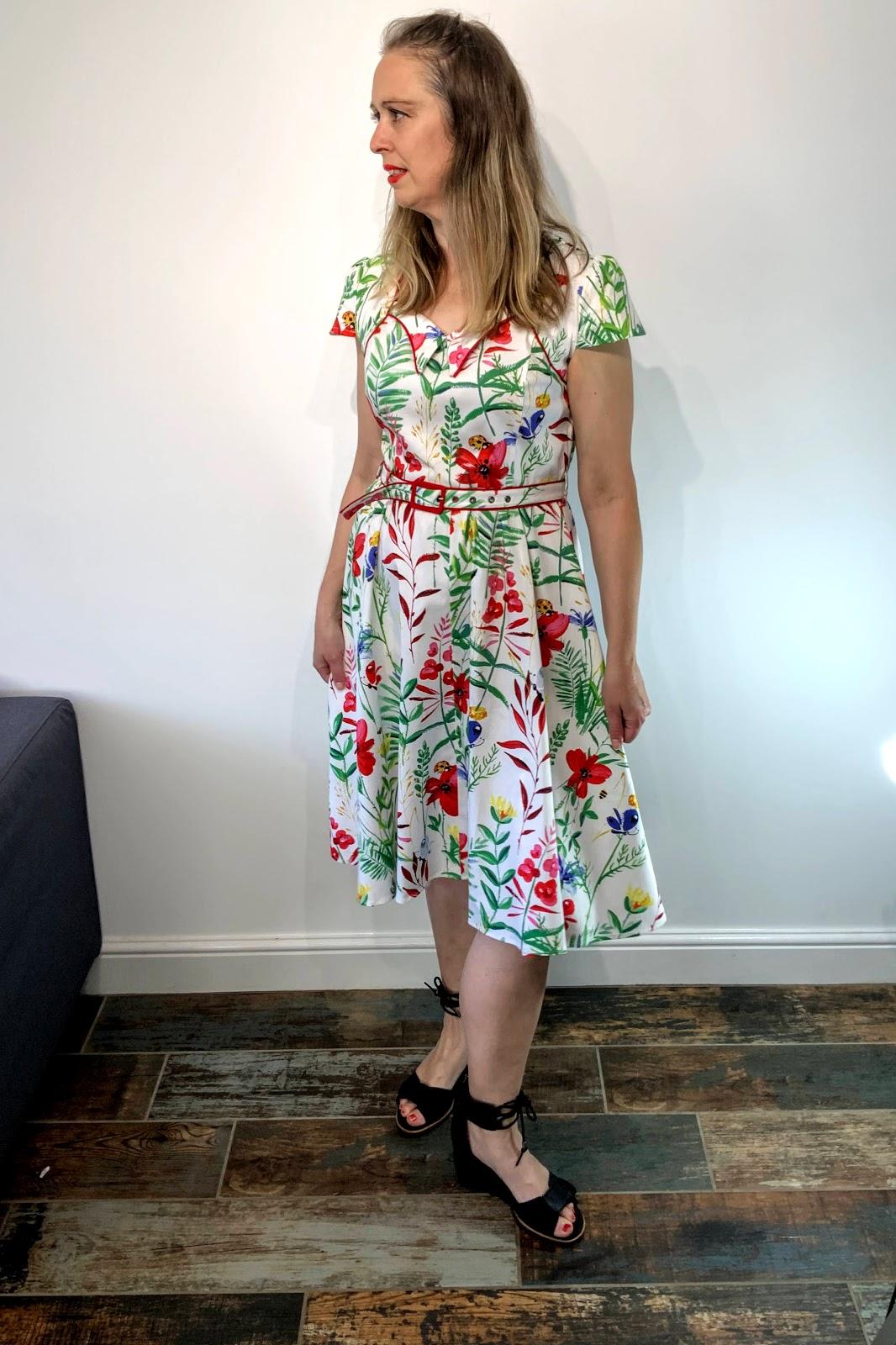 Garden Party Dress; A Great Afternoon Tea Dress