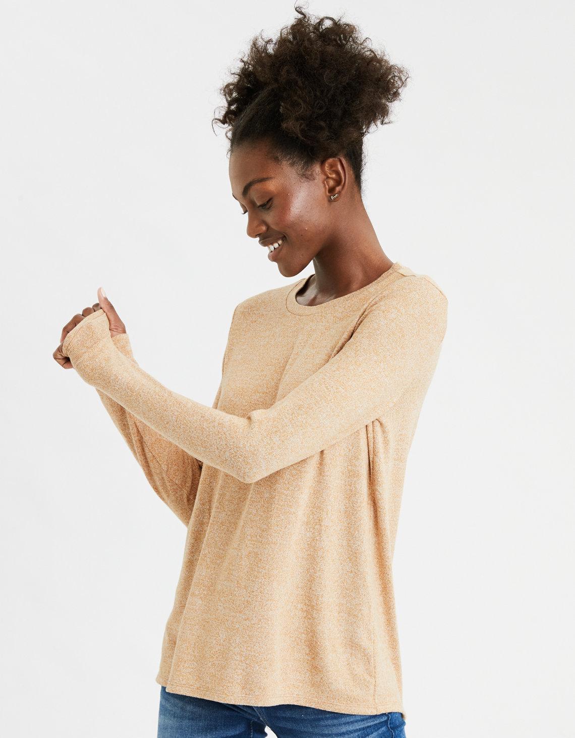 AE Plush Long Sleeve T-Shirt