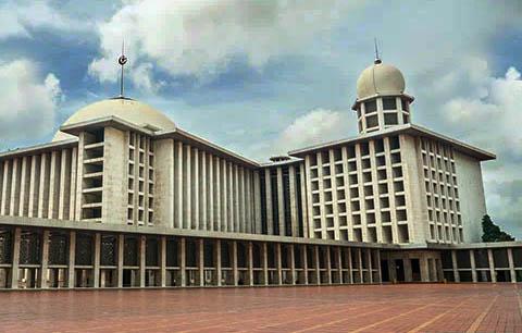 Presiden Jokowi Resmikan Penyelesaian Renovasi Besar Masjid Istiqlal