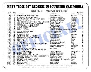 KHJ Boss 30 No. 49 - June 8, 1966