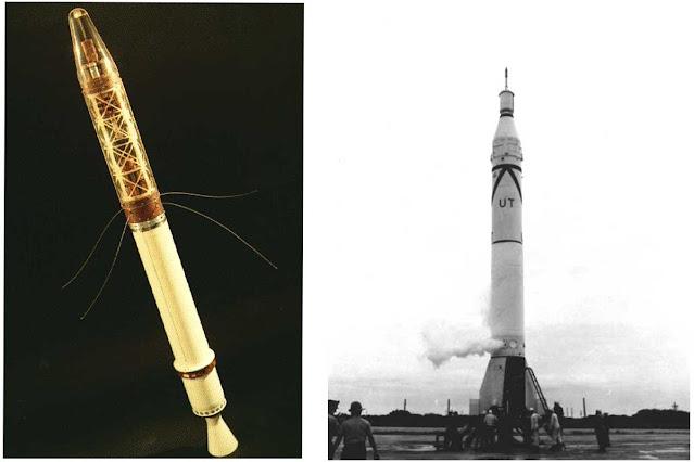 satelit explorer, satelit pertama amerika serikat, satelit explorer 1, satelit, amerika serikat