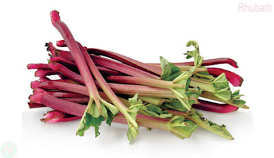 Rhubarb fruit