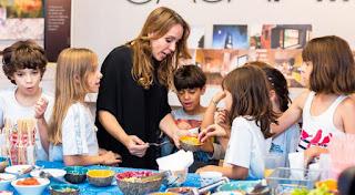Oficina sensorial incentiva alimentação saudável de crianças