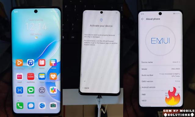 Huawei ANG-AN00 Chip is Damaged & Huawei iD Fix Solution Nova 8 5G
