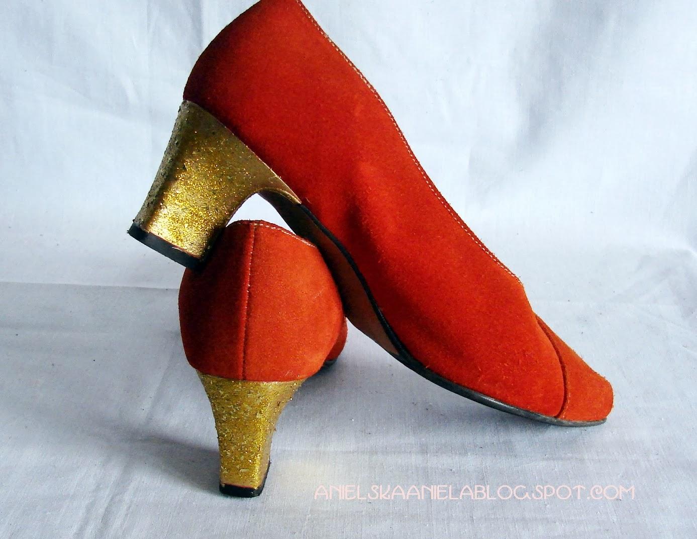 Diy tutorial / how to  glitter heels / brokatowe obcasy/  jak przerobić porysowane obcasy? / jak zrobić buty brokatowe?
