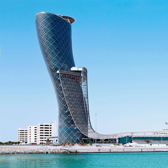 Capital Gate Building - Leaning Tower of Abu Dhabi