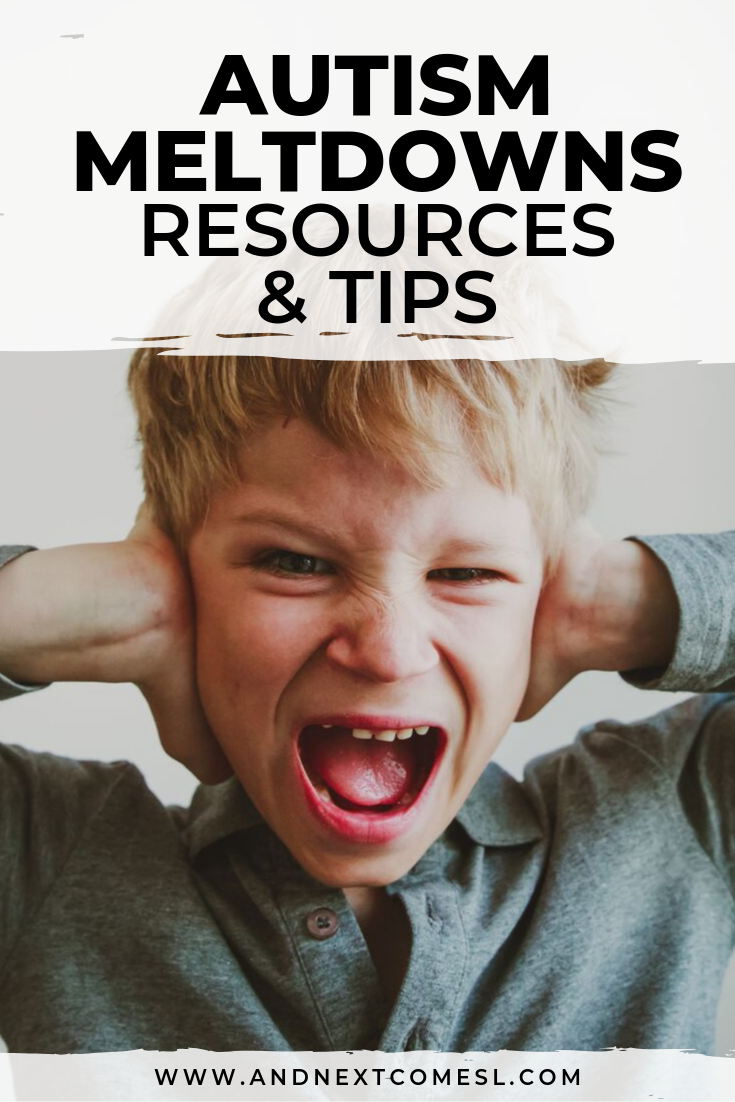 Autism meltdowns: tips and resources for parents so they can learn how to handle sensory meltdowns