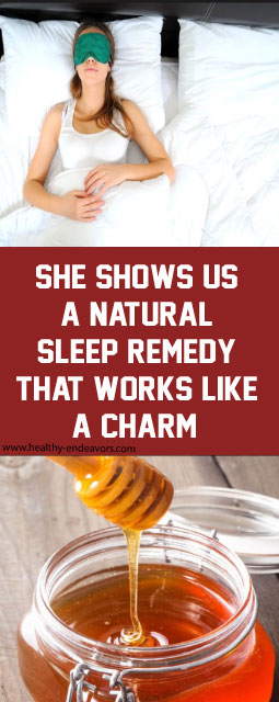 She Shows Us A Natural Sleep Remedy That Works Like A Charm!!