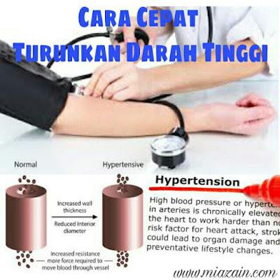 turunkan darah tinggi, cara turunkan darah tinggi