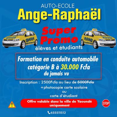 Formation en conduite automobile catégorie B à 30,000 FCFA