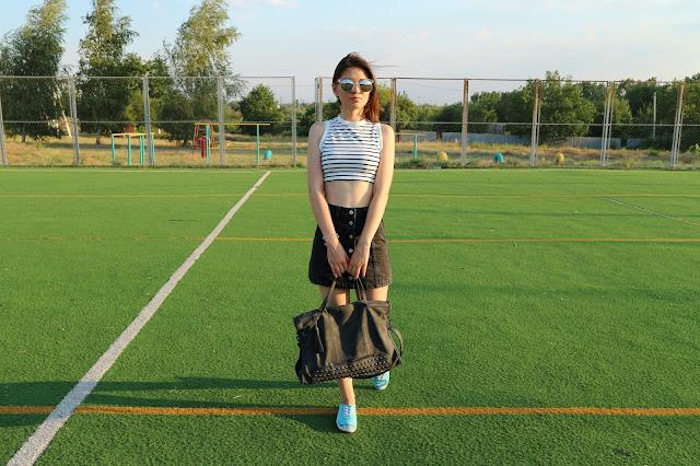 Tassel Rivet PU Leather Tote Handbag Rosegal