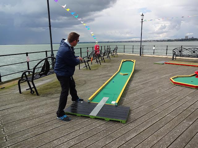 Southend Pier Crazy Golf