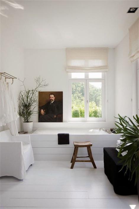 baño decorado con plantas chicanddeco