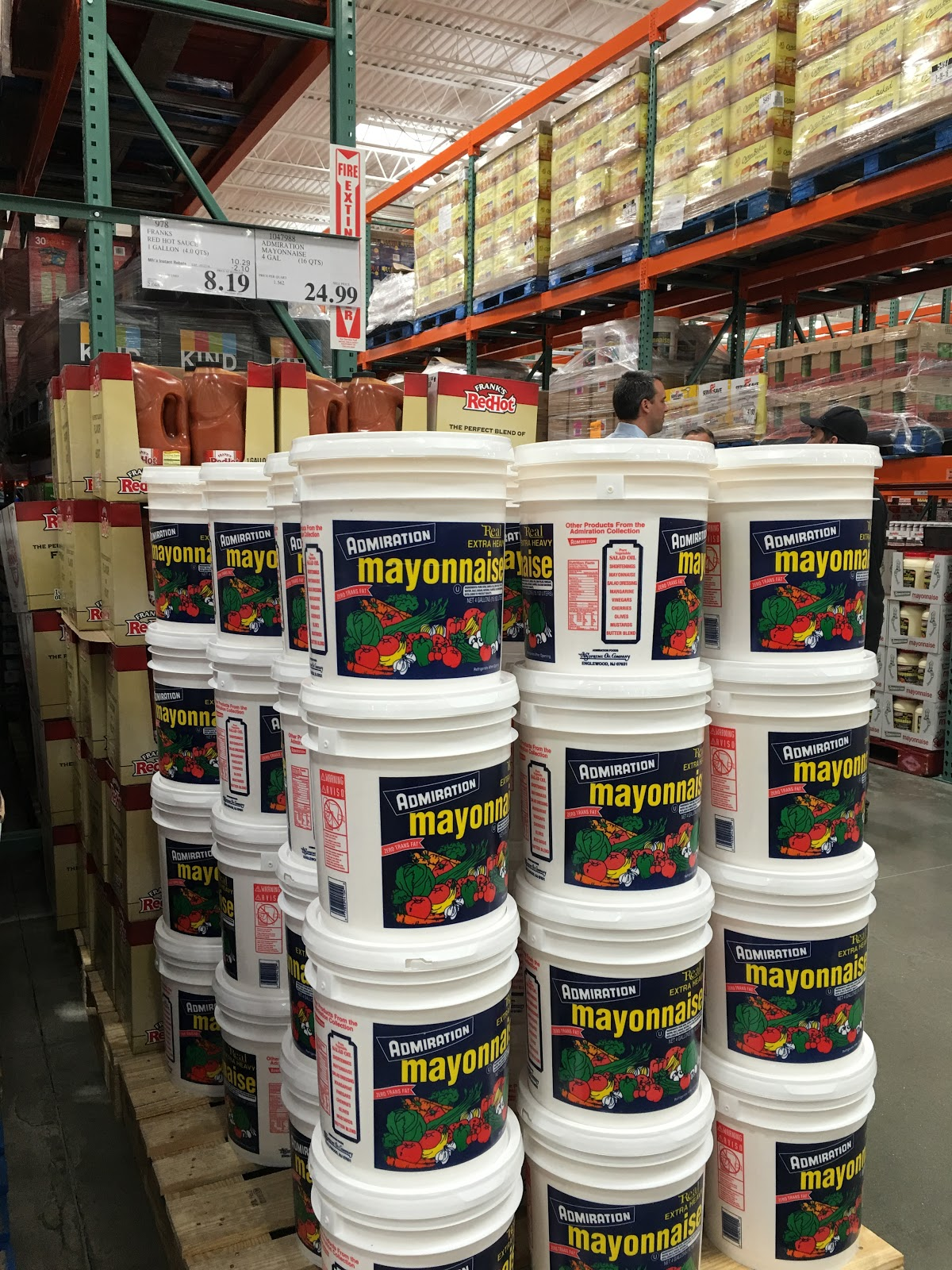 do you really know what you re eating hackensack costco reopens four gallon tubs of onnaise aimed at food businesses are among the unusually large sizes even for costco the business center offers delivery and even