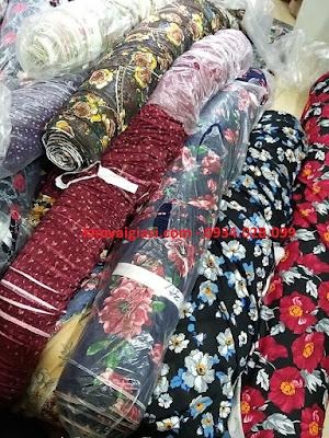 Vải thun Chéo Thái Đồ Bộ Thời trang