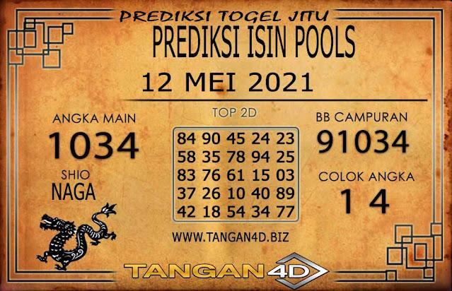 PREDIKSI TOGEL ISIN TANGAN4D 12 MEI 2021