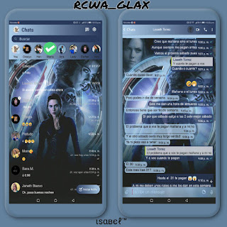 Scarlett Theme For Fouad WhatsApp & YOWhatsApp