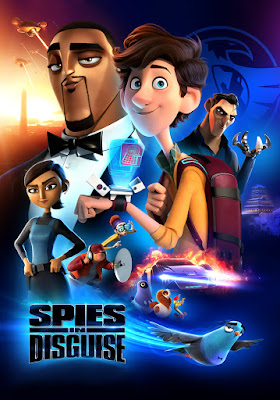 Spies In Disguise 2019 DVD R1 NTSC Latino