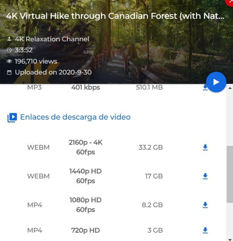 Como descargar videos con Videoder