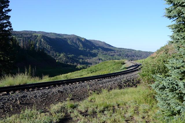 narrow gauge railroad tracks