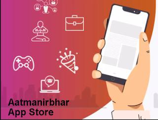 """भारत का अपना """"Aatmanirbhar App Store"""" जो  Google Play Store और Apple App Store की जगह लेगा"""