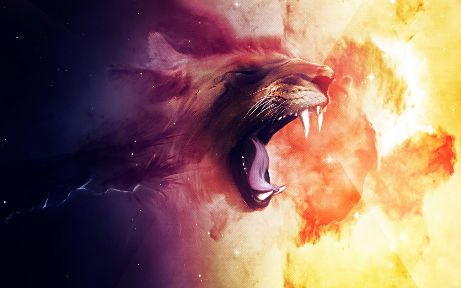 Lion Awesome Full Hd 3d Animation Hd Wallpapers Images Pictures
